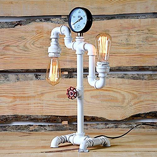 The only goede kwaliteit decoratie Europese retro ijzeren buis lampen Art Cafe restaurant bar naar huis Creative Industries lantaarn 29 * 19 * 47cm
