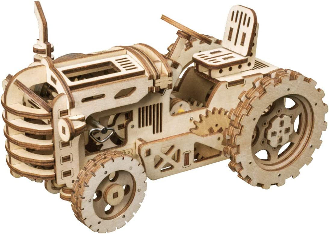 Bargain sale ROKR Mechanical Models 3-D Assembly Latest item Wooden Puzzle T DIY