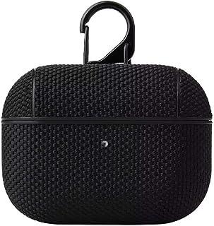 Coco Apple AirPod Pro Case pokrowiec ochronny z nylonu, z klipsem, czarny