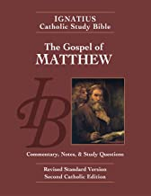 The Gospel According to Matthew (2nd Ed.): Ignatius Catholic Study Bible
