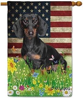 dachshund house flags
