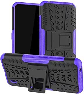 TenDll Case for Samsung Galaxy F12, Shockproof Tough Heavy Duty Armour Back Case Cover Pouch With Stand Double Protective ...