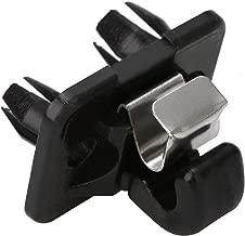 New Arrival 1Pc Durable Plastic Car Holder Black Car Roof Sun Visor Clip For Audi A1 A3 A4 Q3 Q5 8U0857562A