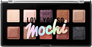 NYX PROFESSIONAL MAKEUP Love You so Mochi Eyeshadow Palette, Sleek and Chic, 0.46 Ounce