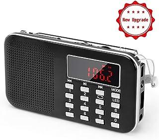 Radio de Transistor portátil pequeña, L-218 Radio Am/FM
