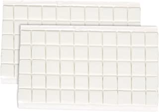 100-Piece Adhesive Putty - Reusable Sticky Tack Putty - Great for Mounting or Hanging - Square Tabs - 3 x 5.9 x .08 Inches