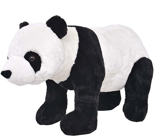 diseño simple y generoso VidaXL Oso Panda de de de Peluche Grande Tamaño XXL de Pie Animal de Juguete Osito  la calidad primero los consumidores primero