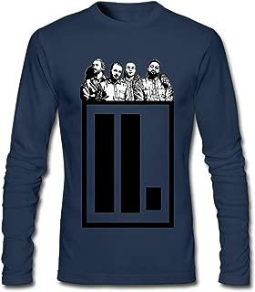 DIY Letlive Post Hardcore Band Logo Men's Long-Sleeve Fashion Casual Cotton T-Shirt