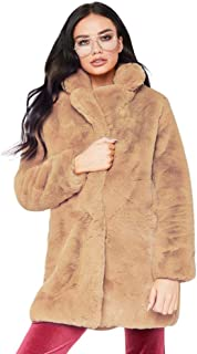 Lurryly Womens Jacket, Winter LadyLadies' Warm Long Faux Fur Coat Parka Outerwear Fashion Clothes Sale Gifts for Women