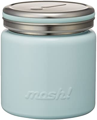フードコンテナ 真空断熱 フードポット 0.3L ターコイズ mosh! (モッシュ!) DMFP300TU