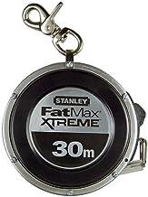 Stanley FatMax 0-34-203 Capsulebandmaat staal (30 m lengte, robuuste aluminium capsule, met polymeer coating, bandterugloop)