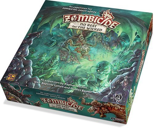 Zombicide Green Horde No Rest for The Wicked Board Game Expansion   Strategy Game   Cooperative Game for Teens and Adults   Zombie Game   Ages 14+   1-6 Players   Avg. Playtime 1 Hour   Made by CMON
