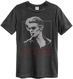 DAVID BOWIE デヴィッド・ボウイ (Space Oddity発売50周年記念) - '80 ERA CREW TEE/Amplified( ブランド ) / Tシャツ/メンズ 【公式/オフィシャル】