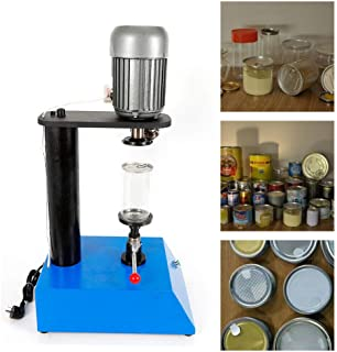 Manual Cans Sealing Machine Food Tin Jar Capper 85mm(3.3inch) 370W Mold Tin Can Sealer Suitable for Various Kinds of Iron Plastic Glass Paper Cans - US Stock