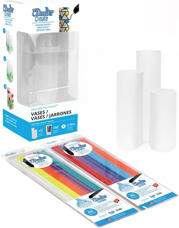 3Doodler Create Canvas Canvas Canvas Series Leinwand 3D Vase B071YP1QVG | Öffnen Sie das Interesse und die Innovation Ihres Kindes, aber auch die Unschuld von Kindern, kindlich, glücklich  bd9d14