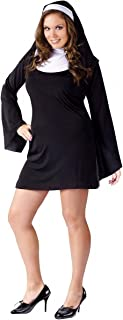 naughty nun plus size costume