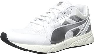 Women's 698 Ignite Metallic Sportstyle Sneaker, White Puma Silver/White, 8.5 B US