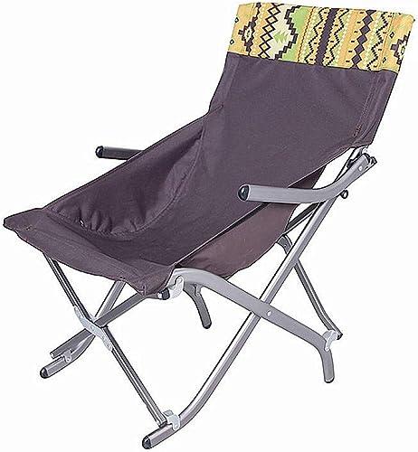 NMNMNM Chaises Camping Multifonctionnel Couleuré Camping pêche Plage randonnée randonnée randonnée Chaise Longue Pliante pour Une Utilisation en extérieur Tabouret Pliable