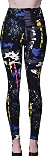 Popular Printed Brushed Buttery Soft Leggings Regular Plus 40+ Designs List 5