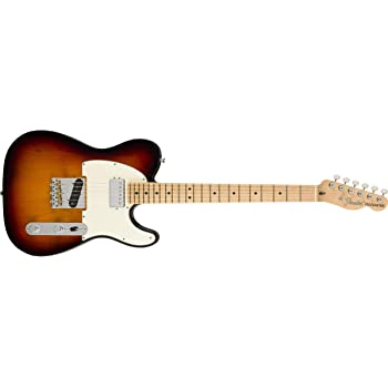 Fender American Performer Telecaster Hum Electric Guitar (3-Color Sunburst, Maple Fingerboard)
