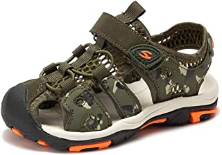 Navoku Mens Leather Leisure Casual Summer Beach Sandals