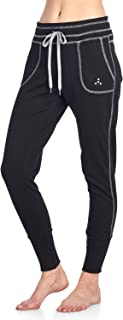Women's Contrast French Terry Jogger Lounge Pants