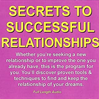 Secrets to Successful Relationships audiobook cover art