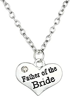 MayLove Best Friend Heart Pendant Necklace Rhinestone Crystal Chain BBF Gifts for Teen Girls