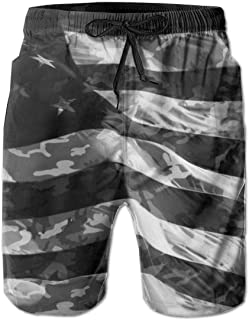 YongColer Men Swimming Trunks Quick-Dry Beach Shorts Slim-fit Pants for Summer