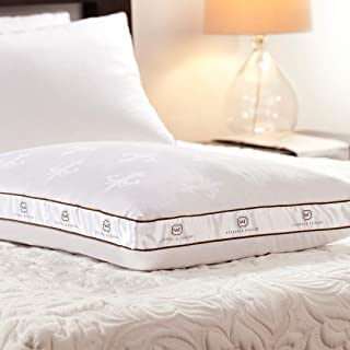 Stearns & Foster Lux Estate Memory Hybrid Pillow, Standard, White