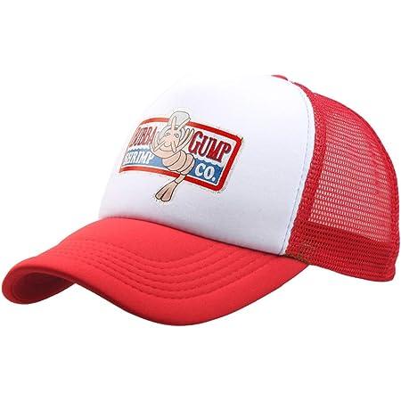 qingning Gump Kappe Baseballcap Rot Drucken Hut Snapback Trucker Cap Cosplay Kost/üme Zubeh/ör