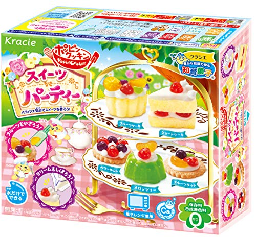 ポッピンクッキンスイーツパーティー5個入食玩・知育菓子