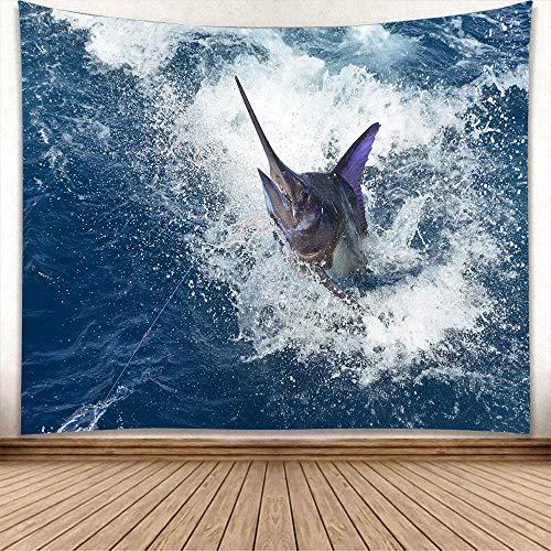 mmzki Angeln Tapisserie nach Hause hängen Tuch europäischen und amerikanischen Strandmatte 4 150 * 200