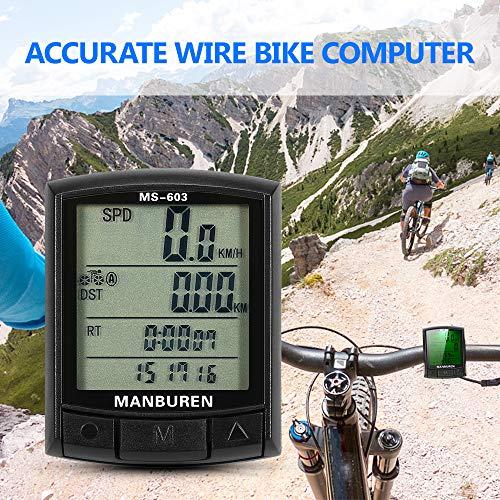Fahrrad Radfahren Computer Fahrrad Tacho Kilometerzähler MTB Rennrad Computer Stoppuhr Wireless/Wired