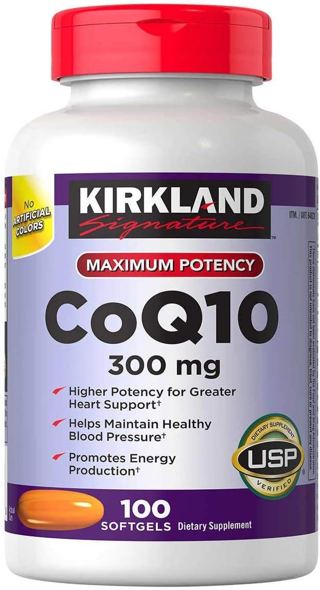Kirkland Signature BejNy COQ10 300 mg 4 of Popular overseas Pack Cheap Softgels 100