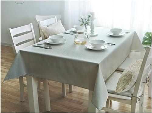 Küche Tischdecke Tischdecke Rectangle Li Fu Farbe Leinen Couchtisch Tischdecke Wasserdicht Anti-hot ölBesteändige Wash Away Kunst Tischdecke (Farbe   2 , Größe   140  20cm  )