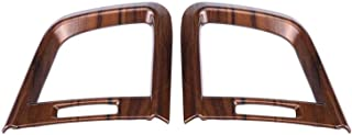 ZRNG 2pcs Peach Wood Grain Front Side Air Conditioning Outlet Vent Cover Trim Decoration For CRV 2017 Car Accessories Easy...