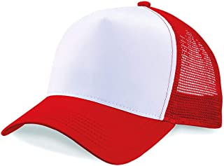 Plain Trucker Cap Mesh Back Baseball Cap Snapback