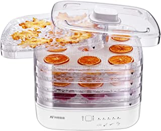 YUNTAO Food dehydrator, Constant Temperature Dehydrator White Mini Food Dryer 270 Watt Household Dried Fruit Machine