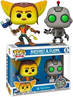 Funko Pop! Ratchet and Clank Playstation Exclusive 2 Pack