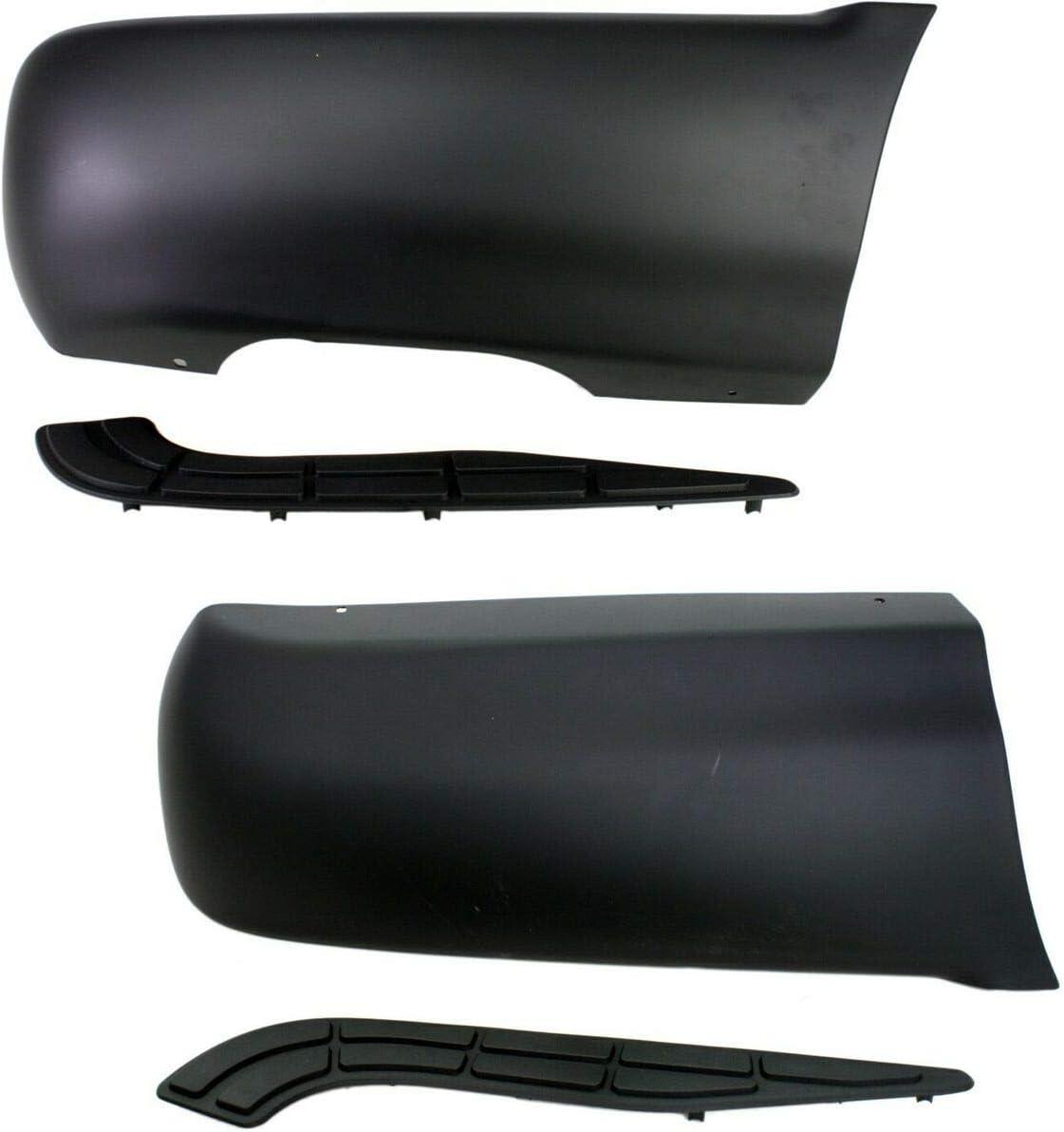大好評です Quarter Panel Extensions Rear Fender 新発売 2 Driver of Set Passenger