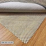 aurrako Non Slip Rug Pads 8x10 Ft Extra Thick Gripper for Hardwood Floors,Rug Gripper for Carpeted Vinyl Tile and Any Hard Surface Floors Under Area Rugs,Runner Anti Slip Non Skid Carpet Mat (8'x10')