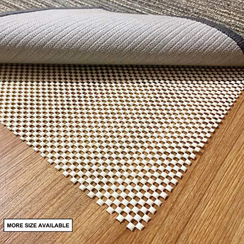 aurrako Non Slip Rug Pads 2x10 Ft Extra Thick Gripper for Hardwood Floors,Rug Gripper for Carpeted Vinyl Tile and Any Hard Surface Floors Under Area Rugs,Runner Anti Slip Non Skid Carpet Mat (2'x10')