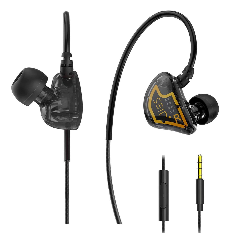 Headphones Microphone Sweatproof Earphones Compatible