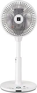 シャープ プラズマクラスター扇風機 空気浄化・消臭 3Dターン コンパクトタイプ リモコン付き ホワイト PJ-G2DS-W