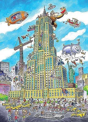 hasta un 70% de descuento Cobble Hill Doodle Town Town Town  Empire State Jigsaw Puzzle, 1000-Piece by Cobble Hill  precio al por mayor