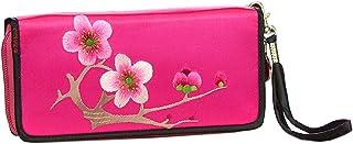 HangErFeng Women's Handbag Silk Hand Embroidered Chinese Wallet Gift Packaging H1062