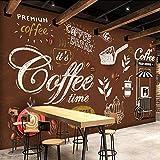 Personalizado Cualquier Tamaño Estilo Europeo Retro Pintado a Mano Cartel Mural Papel Pintado Cafetería Restaurante Fondo Pared Papel de Pintura