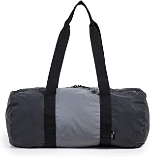 Supply Co. Men's Packable Duffel, Black Reflective, One Size