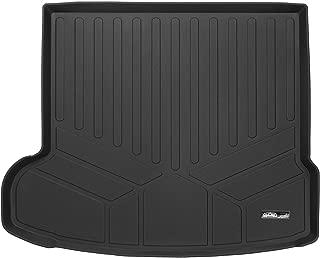 SMARTLINER All Weather Custom Fit Cargo Trunk Liner Floor Mat Black for 2017-2019 Jaguar F-Pace / 2018-2019 Range Rover Velar